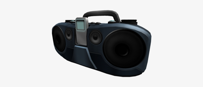 Boombox Gear - Roblox Gear Id Boombox - Free Transparent PNG