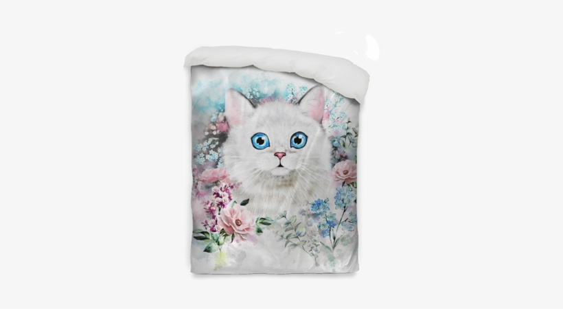 Watercolor Cat Illustration - Pinturas De Acuarela De Gato, transparent png #1567158