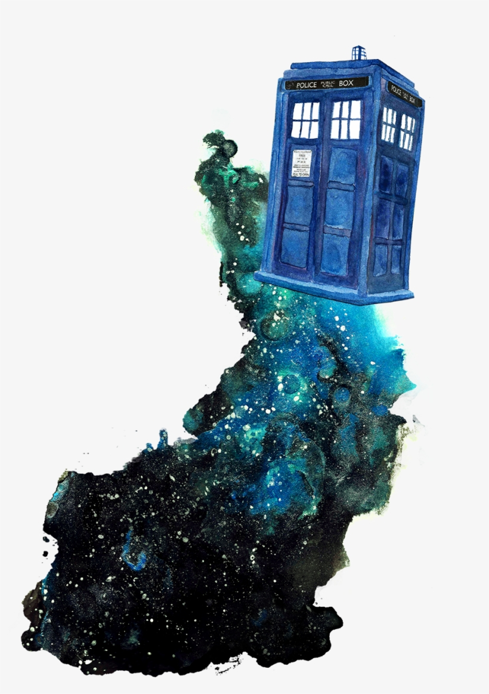 Official Celestielcastiel All Of - Doctor Who Tardis Fan Art, transparent png #1567968