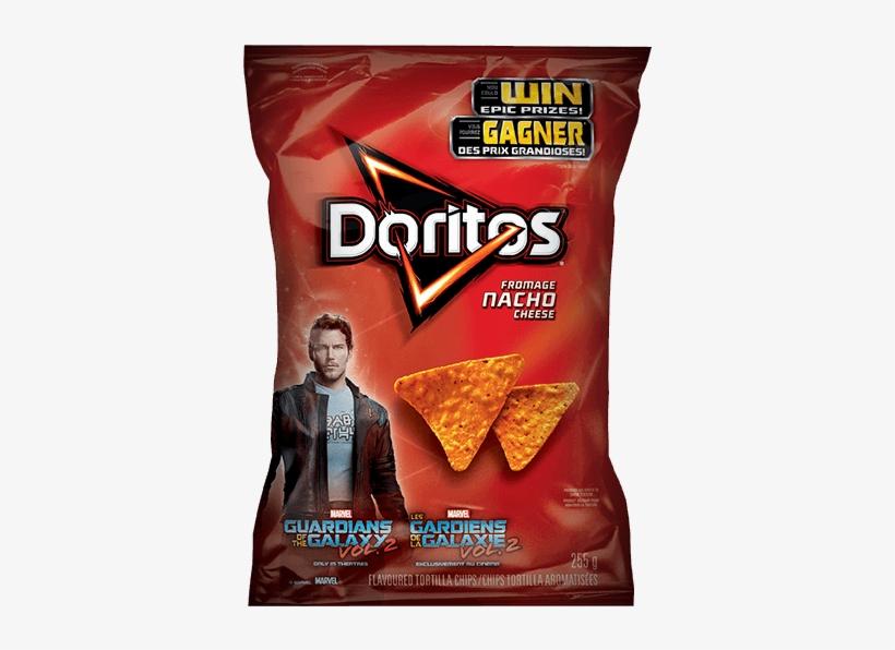 Starlord - Doritos Nacho Cheese Tortilla Chips, transparent png #1568651