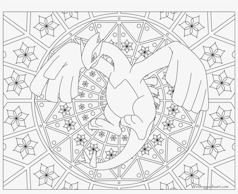 Lugia - Pokemon Adult Coloring Pages, transparent png #1569844