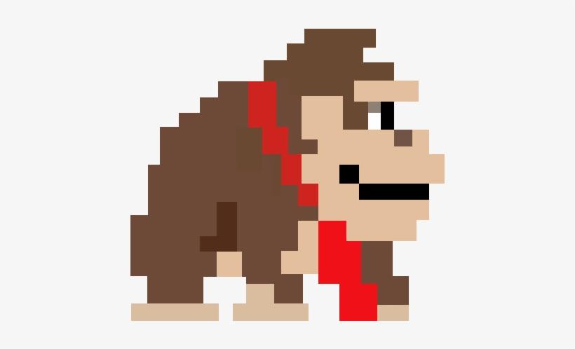 Super Mario Maker 8 Bit Donkey Kong Png Free Transparent Png