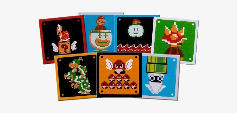 Best Buy's Pin Set Sure Has Some Interesting Elements - Mario Maker 3ds Bowser Jr, transparent png #1570351