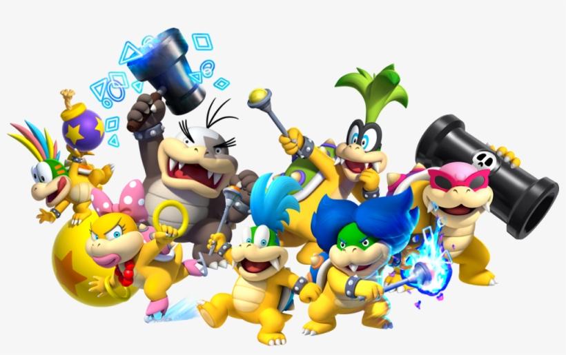 We Need The Koopalings To Be Dlc Or In Super Mario - Mario Koopalings, transparent png #1570513