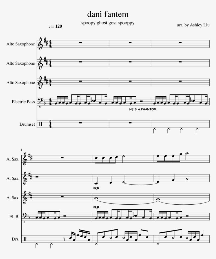 Dani Fantem Sheet Music Composed By Arr - Practical Magic Theme Sheet Music, transparent png #1570891