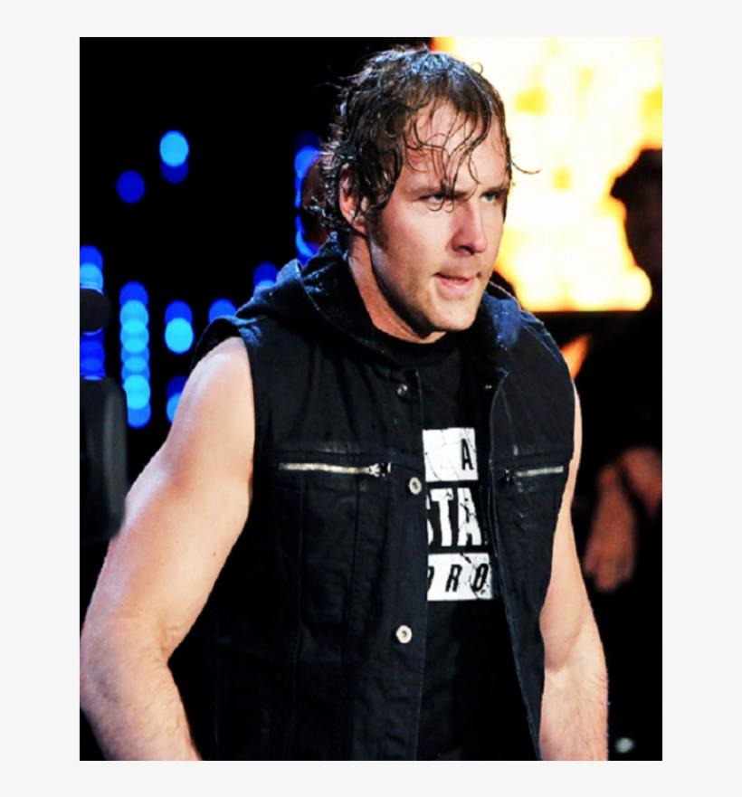 Dean Ambrose Hoodie Vest - Wwe Dean Ambrose Jacket, transparent png #1571121