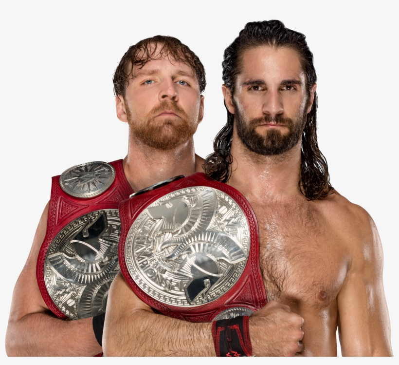 Seth And Dean's Championship Picture From Wwe - Dean Ambrose Seth Rollins Png, transparent png #1571266