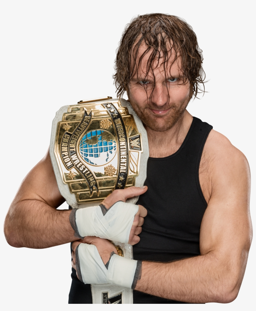 Dean Ambrose New Ic Champion 2017 Png - Wwe Dean Ambrose 2017, transparent png #1571331