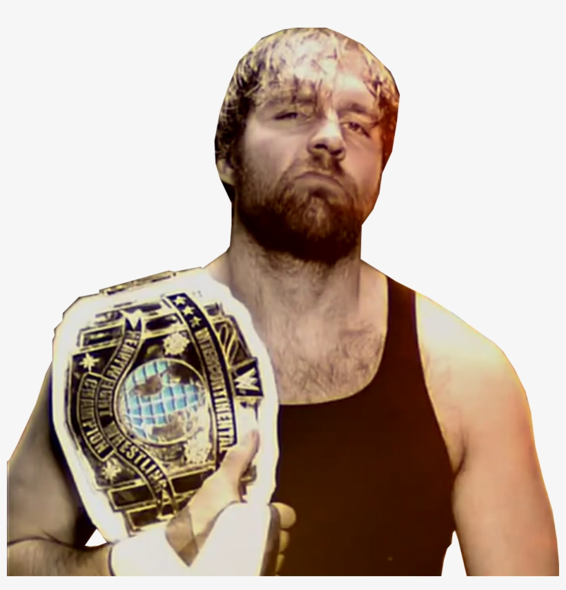 Dean Ambrose - Wwe Dean Ambrose Intercontinental Champion 2017, transparent png #1571576