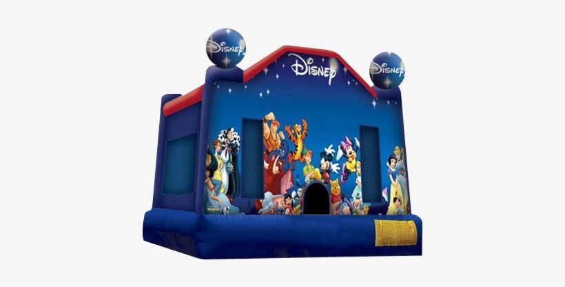 Rent The World Of Disney Bounce House - Disney Bounce House, transparent png #1571763