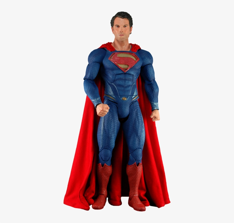 Man Of Steel - Neca Superman Man Of Steel Action Figure 1/4 Scale, transparent png #1572314