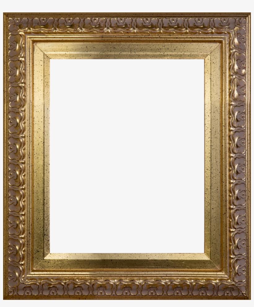 """Gold Frame Canvas Art - Elegant Gold Frame 8""""x10"""" Museum Frame, transparent png #1572406"""
