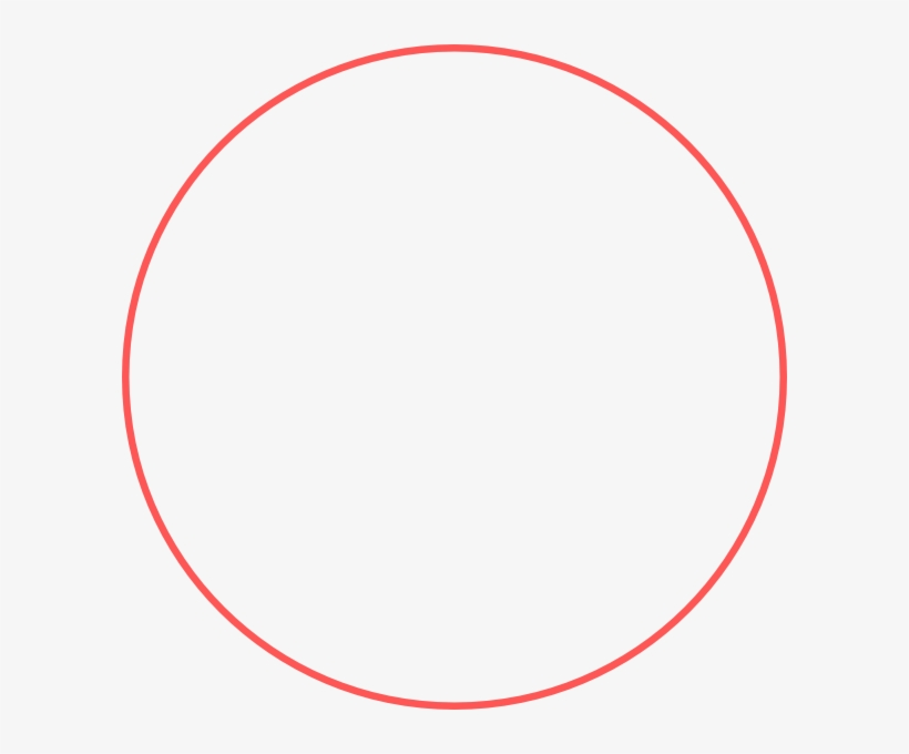 Red Circle Outline Png - Draw A Big Circle, transparent png #1572700