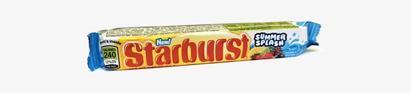 Starburst Fruit Chews Summer Splash - Starburst Sweets & Sours, transparent png #1572778