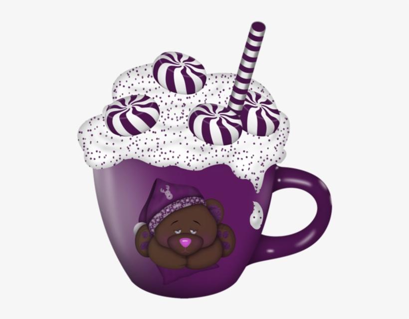 Cup Clipart Purple Cup - Cup, transparent png #1573374