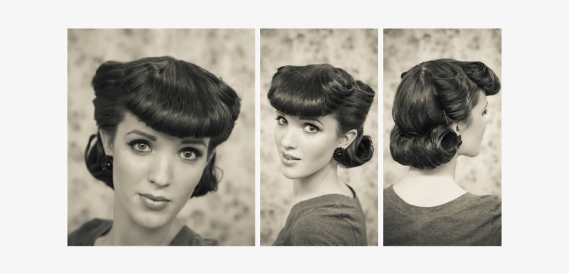 Thanks For Dropping By, And A Huge Thankj You To Those - 1950 Hair Style Side Bangs, transparent png #1573912