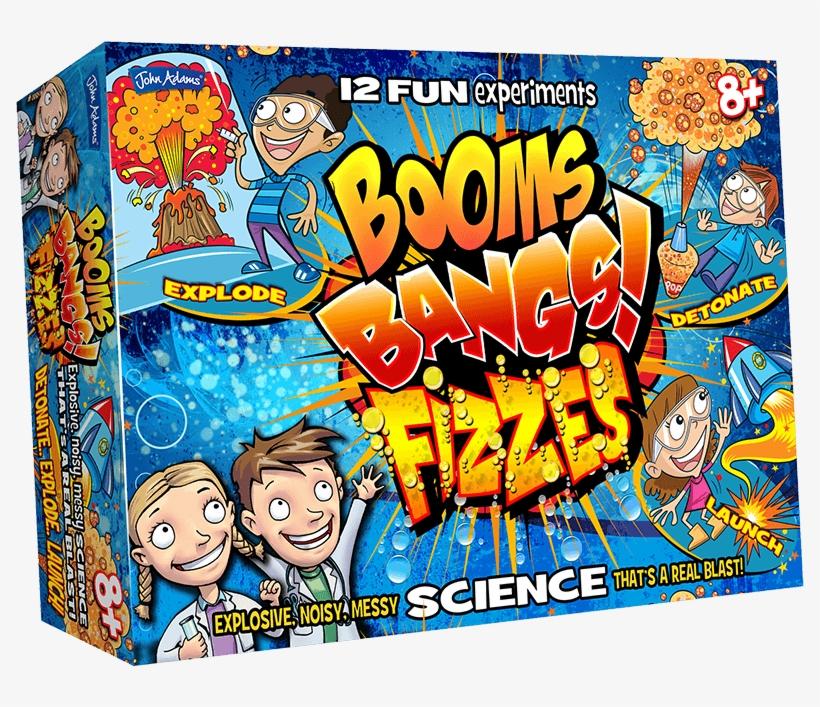 Booms Bangs Fizzes Box - John Adams Booms Bangs And Fizzes, transparent png #1574491