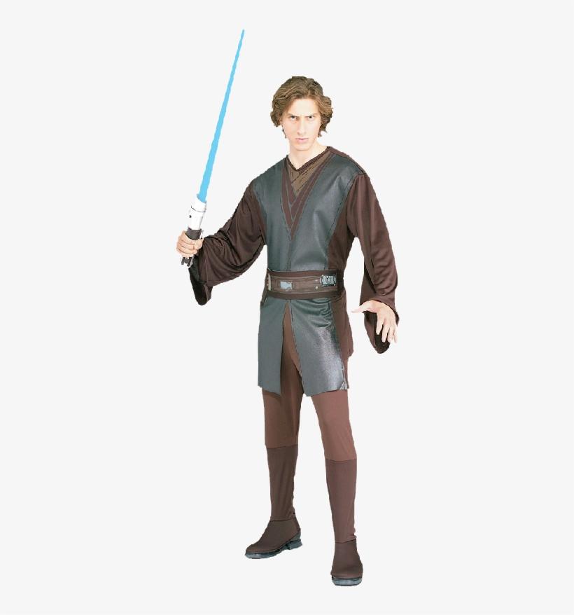 Anakin Skywalker Adult Costume - Star Wars Anakin Skywalker Adult Costume, transparent png #1575517