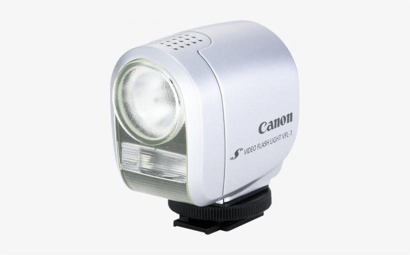 Vfl-1 Video Flash Light Camera Accessory - Canon Vfl-1 - On-camera Light - Dc, transparent png #1575978