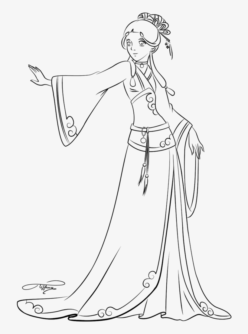 Avatar The Last Airbender Coloring Pages - Avatar The Last Airbender Coloring Pages Katara, transparent png #1576080