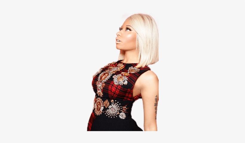 Nicki Minaj Looking Up - Nicki Minaj Red, transparent png #1576583