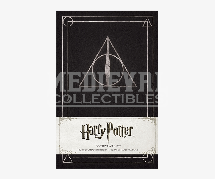 Harry Potter Deathly Hallows Hardcover Ruled Journal, transparent png #1576800