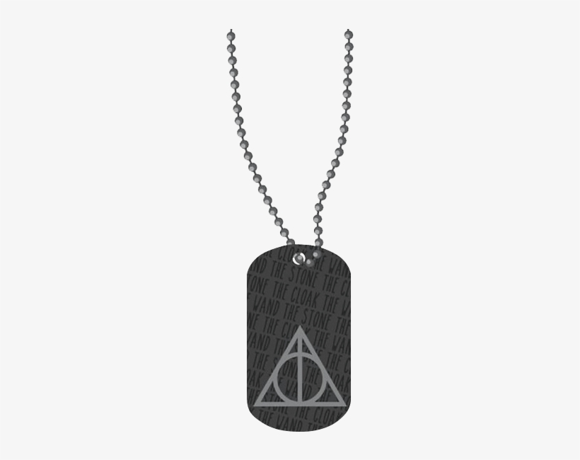 Harry Potter Deathly Hallows Dog Tag - Deathly Hallows, transparent png #1577044