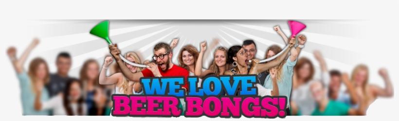 Bottle Bong - Beer Bong Party, transparent png #1577302