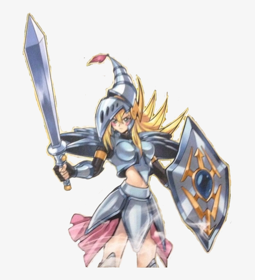 Dark Magician Girl The Dragon Knight Dmgdk By Goku162008 - Yu-gi-oh! Tcg: Dragons Of Legend Booster Pack, transparent png #1577480