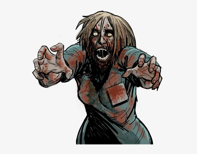 The Walking Dead Zombie Png - The Walking Dead, transparent png #1579490
