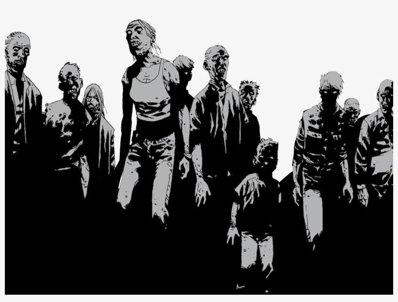 Walking Dead Book 1, transparent png #1579685