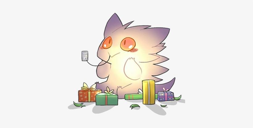 Event - Shiny Gengar - Holiday Pokemon, transparent png #1582222