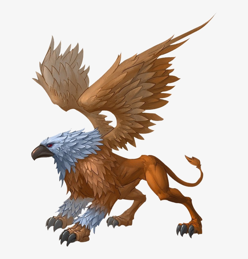 Griffin png griffins mythical creatures free transparent png download pngkey - A picture of a griffin the creature ...