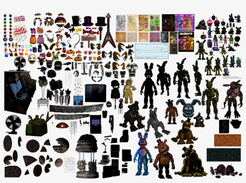 Fnaf Photoshop Resources Clipart Five Nights At Freddy's