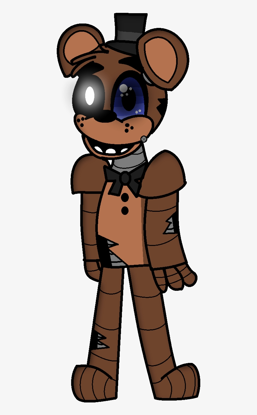 28 Collection Of Fnaf Drawings Freddy - Freddy Drawings, transparent png #1584780