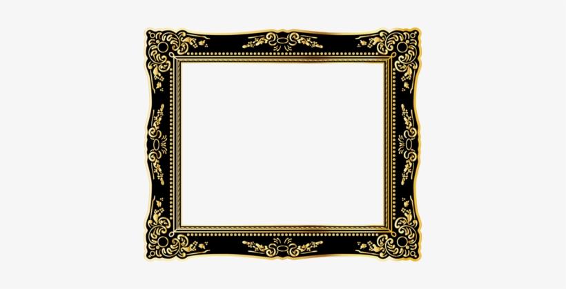Picture Frames Gold Computer Icons Decorative Arts - Vintage Gold Frame Png, transparent png #1587887