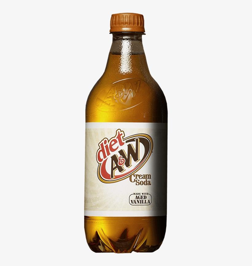 Soda Diet A&w Cream - Diet A&w Cream Soda, 12 Fl Oz Cans, 12 Pack, transparent png #1590880