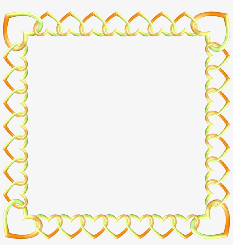 gold border transparent clipart borders and frames clip art free