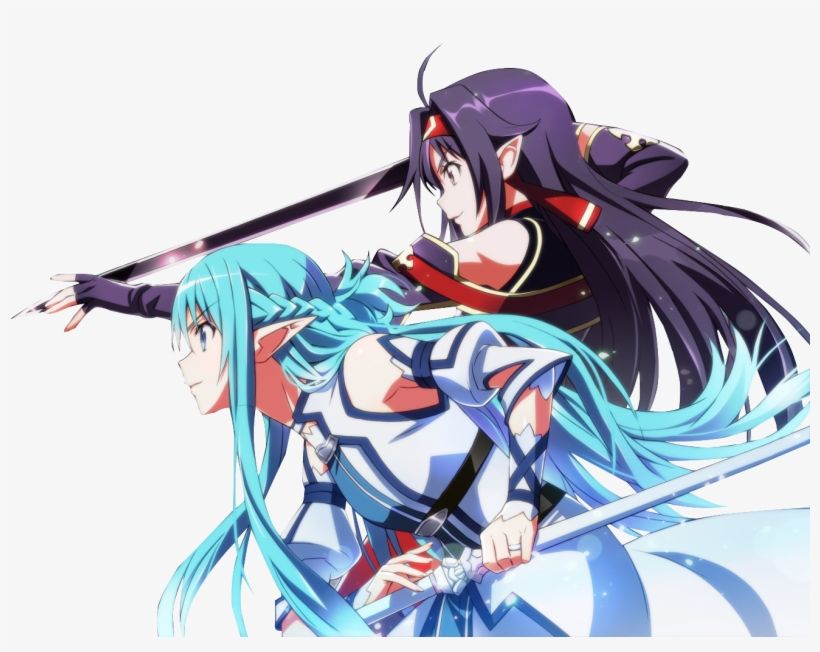 Sword Art Online Ii Yuuki Konno Asuna Yuuki Wallpaper - Sword Art Online Yuuki Png, transparent png #1592425