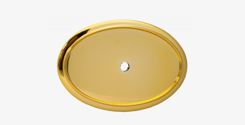 X Oval Badge Holder Frames Holders - Gold Plain Frames Oval Png, transparent png #1592477