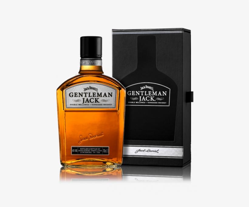 Jack Daniel's Gentleman Jack - Jack Daniels Gentleman Jack Whiskey Rare (700ml), transparent png #1595581