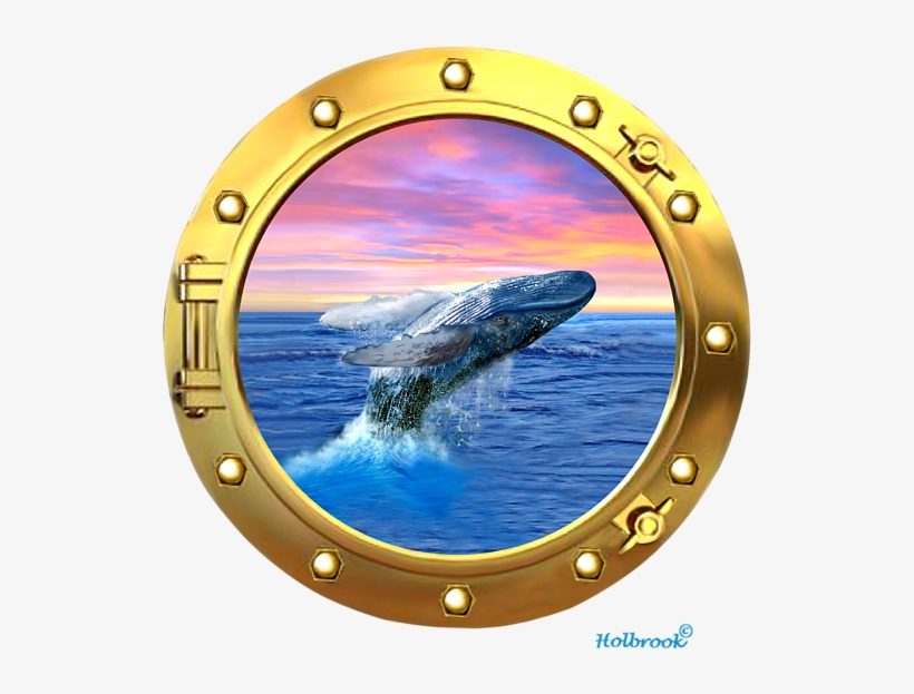 Click And Drag To Re-position The Image, If Desired - Humpback Whale Breaching At Sunset, transparent png #1595924
