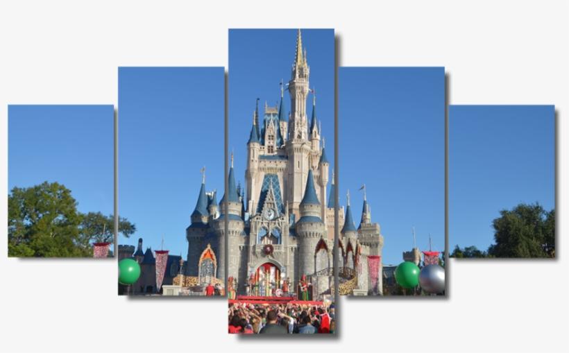 Disney Castle Png - Disney World, Cinderella Castle, transparent png #1596930