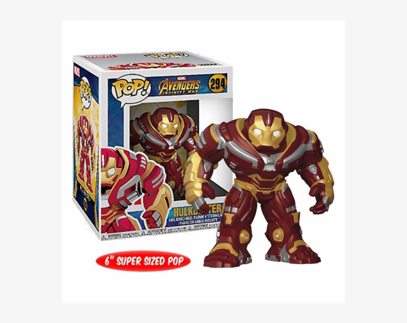 Marvel Avengers Infinity War Pop Vinyl Bobblehead Hulkbuster - Hulkbuster Funko Pop Infinity War, transparent png #1598688