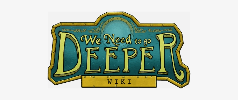 We Need To Go Deeper Logo Png, transparent png #1598800
