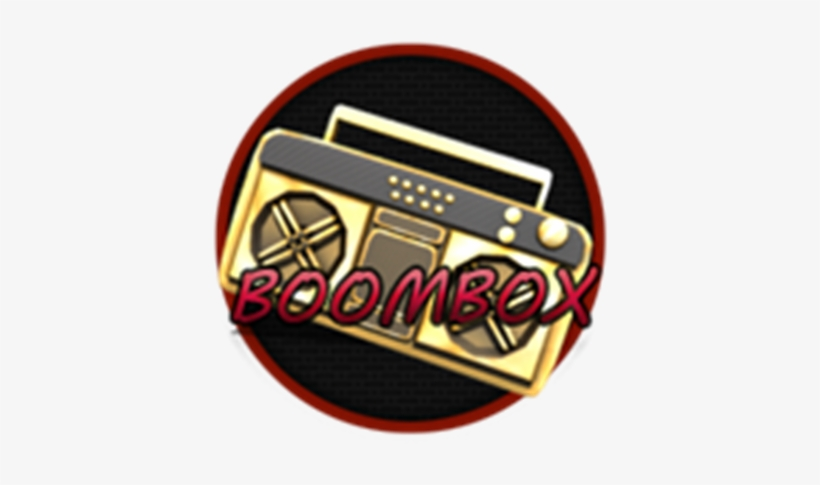 Boombox Roblox Boombox Free Transparent Png Download Pngkey