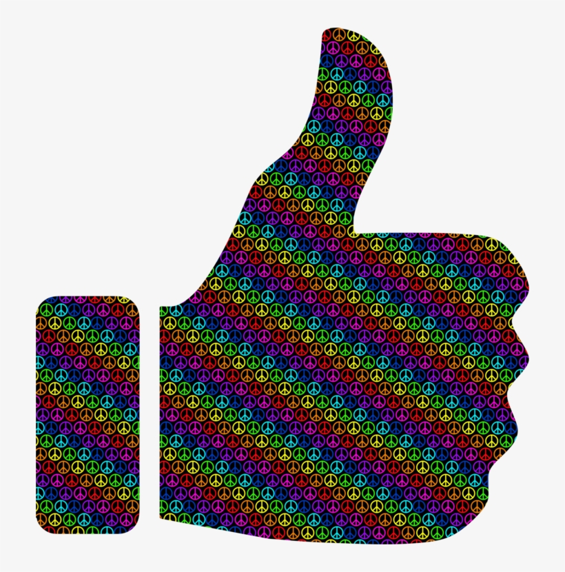 Facebook Like Button Thumb Signal Computer Icons Symbol - Vector Transparent Background Thumbs Up Png, transparent png #1599278
