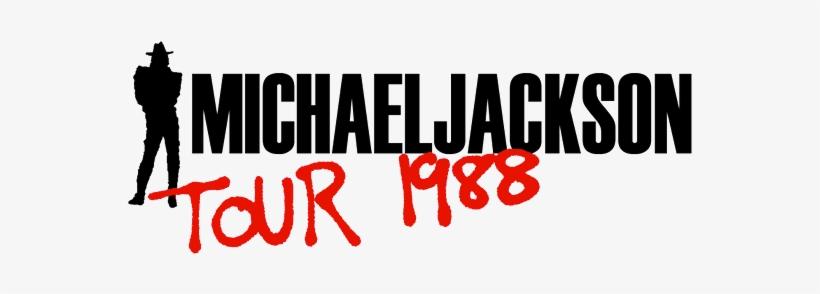 "Michael Jackson Bad Tour Official Logoa - Michael Jackson Bad 1987 Uk 12"" Vinyl 6511556, transparent png #160002"