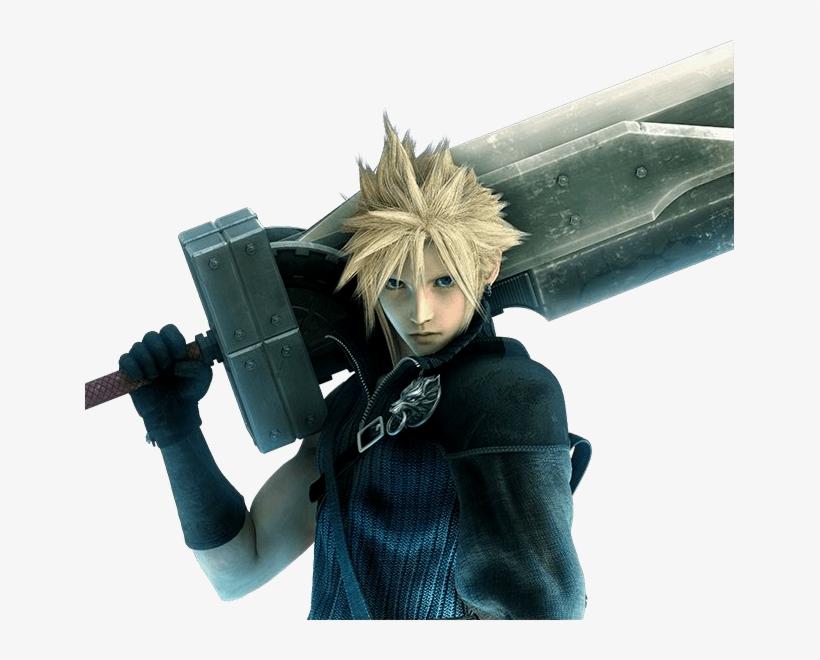 485px-cloud Strife - Final Fantasy Characters Cloud, transparent png #160252