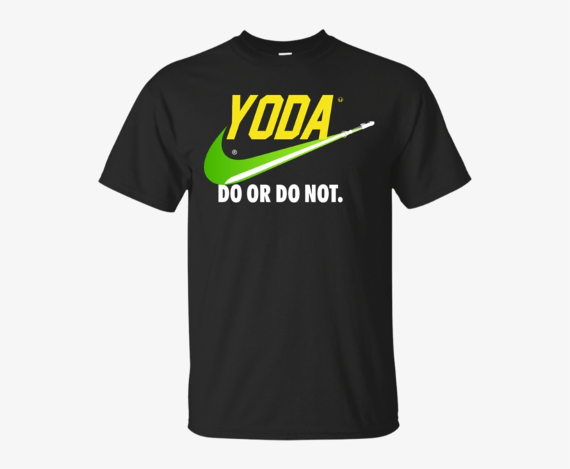 Do Or Do Not Ultra Cotton T-shirt / Black / Small Shirts - Iowa Wrestling T Shirts, transparent png #160770